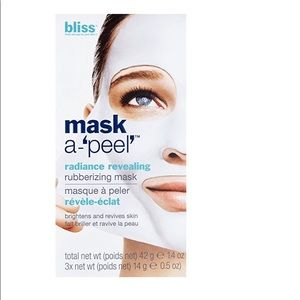 Bliss mask-a'peel' radiance revealing mask